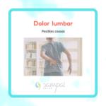 Posibles causas del dolor lumbar
